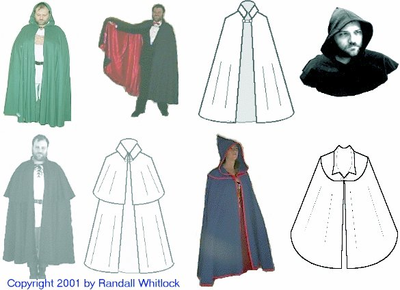Randwulf's Collection of Capes by Randall Whitlock